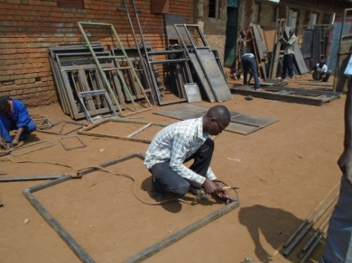 Vocational training for youth SAO uganda